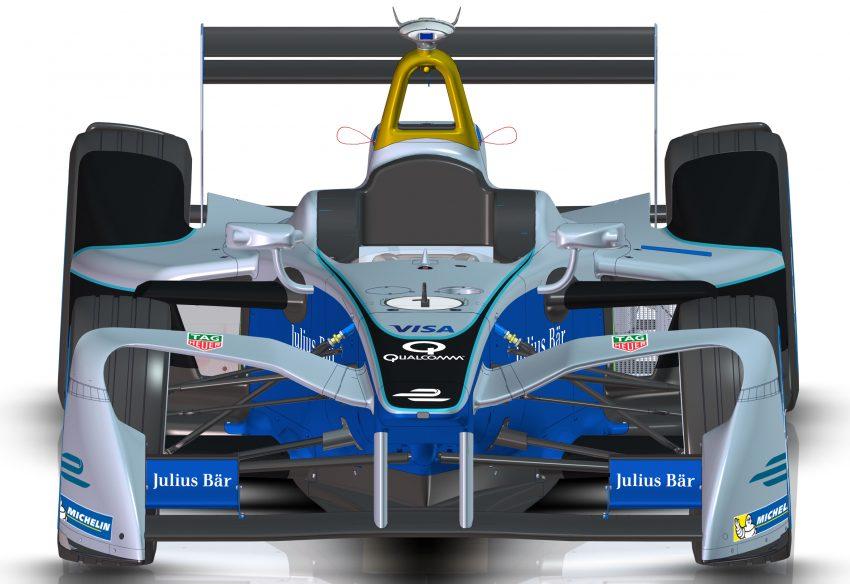Formula E race cars get new look for season three Image #526816