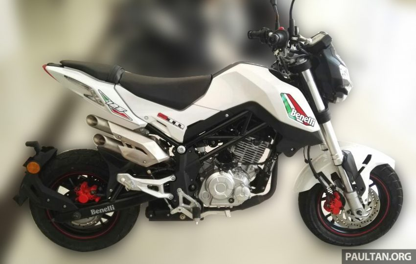2016 Benelli T302R and TnT135 in Malaysia by Oct? Image #526207