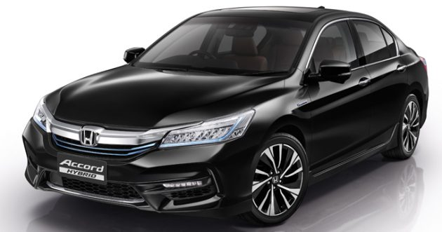 2016 honda accord hybrid officially launched in thailand. Black Bedroom Furniture Sets. Home Design Ideas