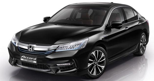 2016 Honda Accord Hybrid Thailand launch 1