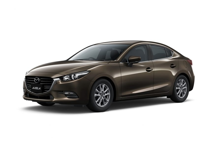Mazda 3 Axela 2017 >> 2016 Mazda 3 facelift officially revealed – new looks, updated powertrain line-up, additional ...