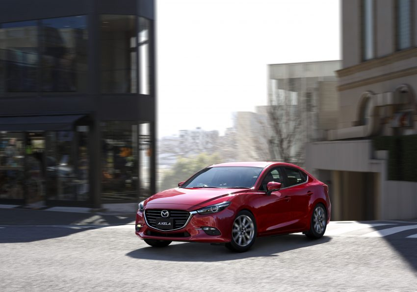 2016 Mazda 3 facelift officially revealed – new looks, updated powertrain line-up, additional tech features Image #518425