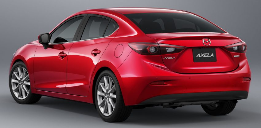 2016 Mazda 3 facelift officially revealed – new looks, updated powertrain line-up, additional tech features Image #518430