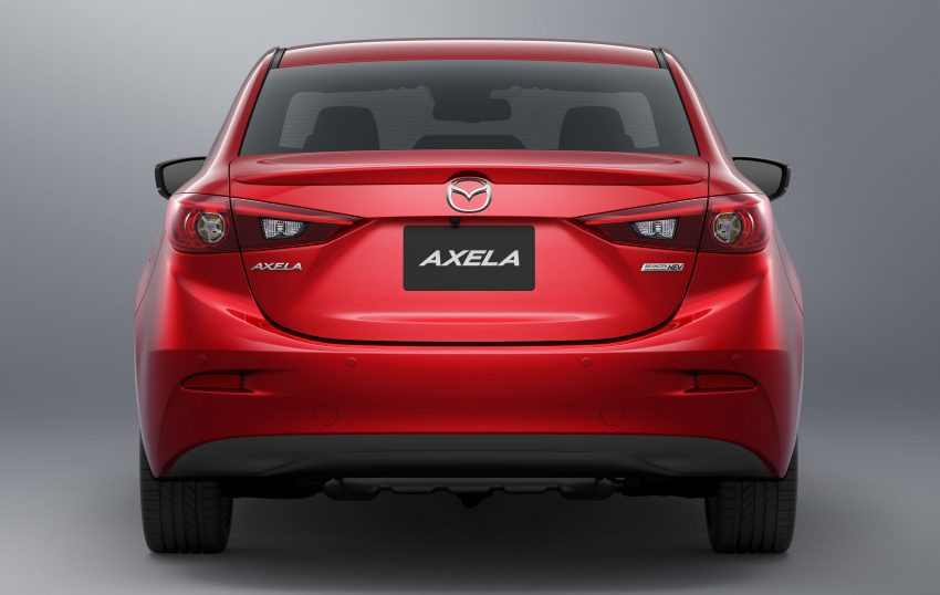 2016 Mazda 3 facelift officially revealed – new looks, updated powertrain line-up, additional tech features Image #518432