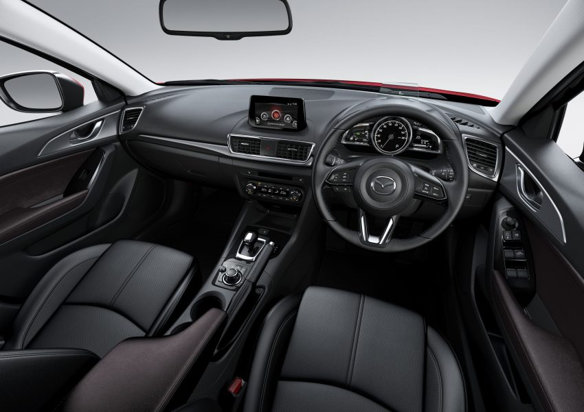2016 Mazda 3 facelift officially revealed – new looks, updated powertrain line-up, additional tech features Image #518434