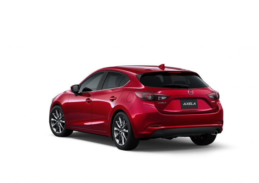 2016 Mazda 3 facelift officially revealed – new looks, updated powertrain line-up, additional tech features Image #518460