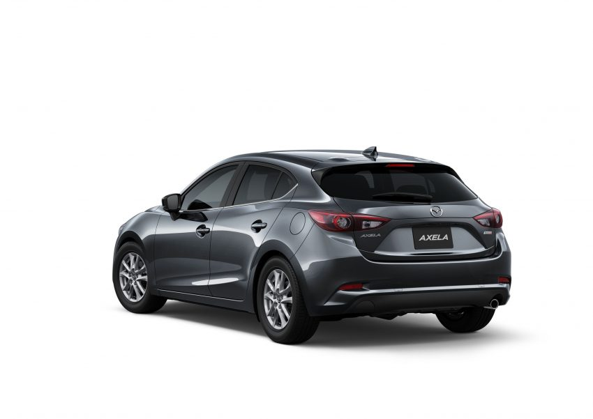 2016 Mazda 3 facelift officially revealed – new looks, updated powertrain line-up, additional tech features Image #518467