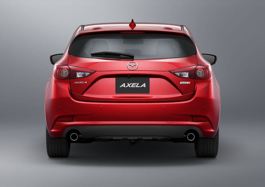 2016 Mazda 3 facelift officially revealed – new looks, updated powertrain line-up, additional tech features Image #518481