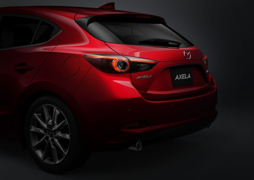 2016 Mazda 3 facelift officially revealed – new looks, updated powertrain line-up, additional tech features Image #518483