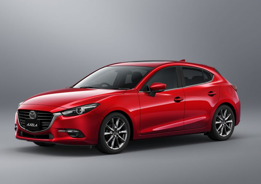 2016 Mazda 3 facelift officially revealed – new looks, updated powertrain line-up, additional tech features Image #518485