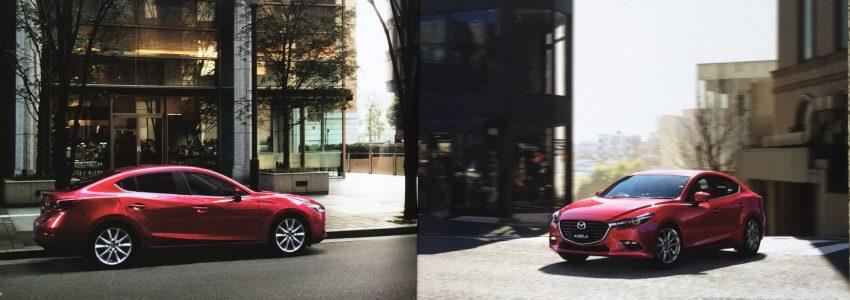 New Mazda 3 facelift revealed in Japanese brochure Image #517341