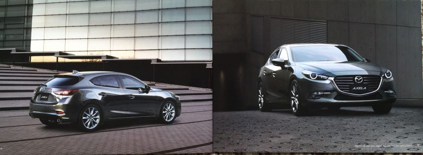 New Mazda 3 facelift revealed in Japanese brochure Image #517342