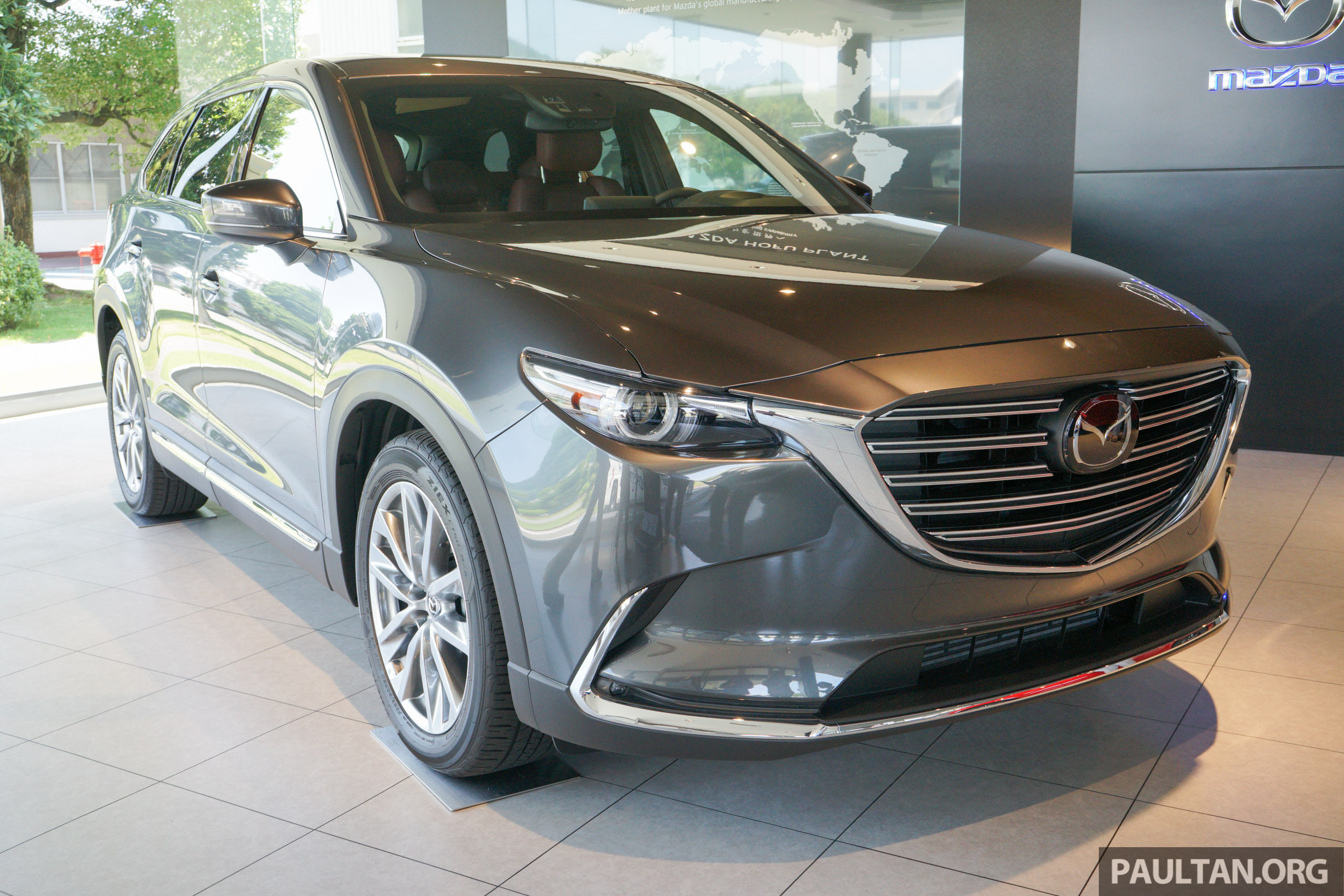 gallery all new mazda cx 9 showcased in japan. Black Bedroom Furniture Sets. Home Design Ideas