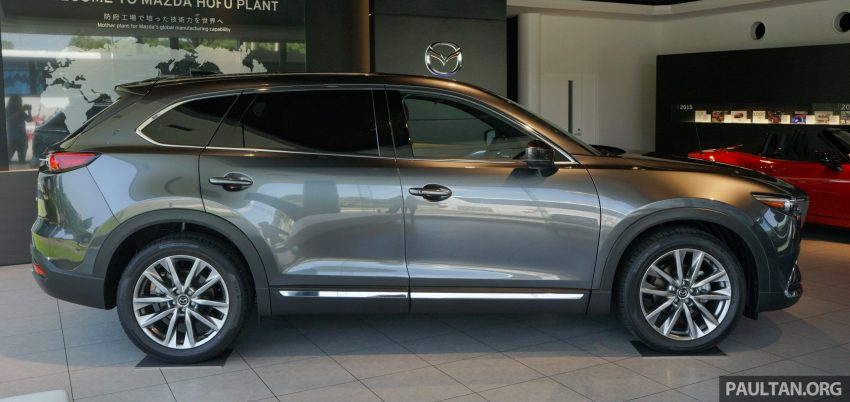 Gallery All New Mazda Cx 9 Showcased In An