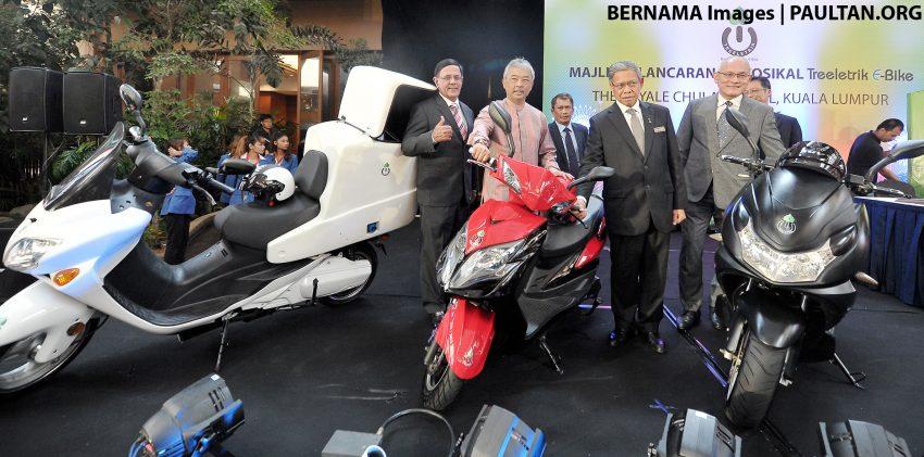 Motosikal elektrik Treeletrik dilancarkan di Malaysia Image #525663