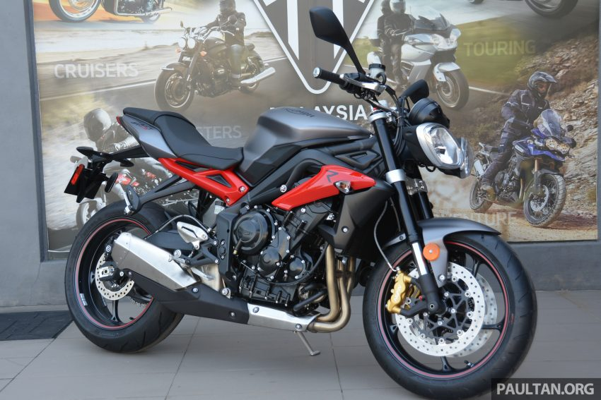 Long-term review: 2016 Triumph Street Triple 675R – delivery, running-in, first service and accessories Image #515433