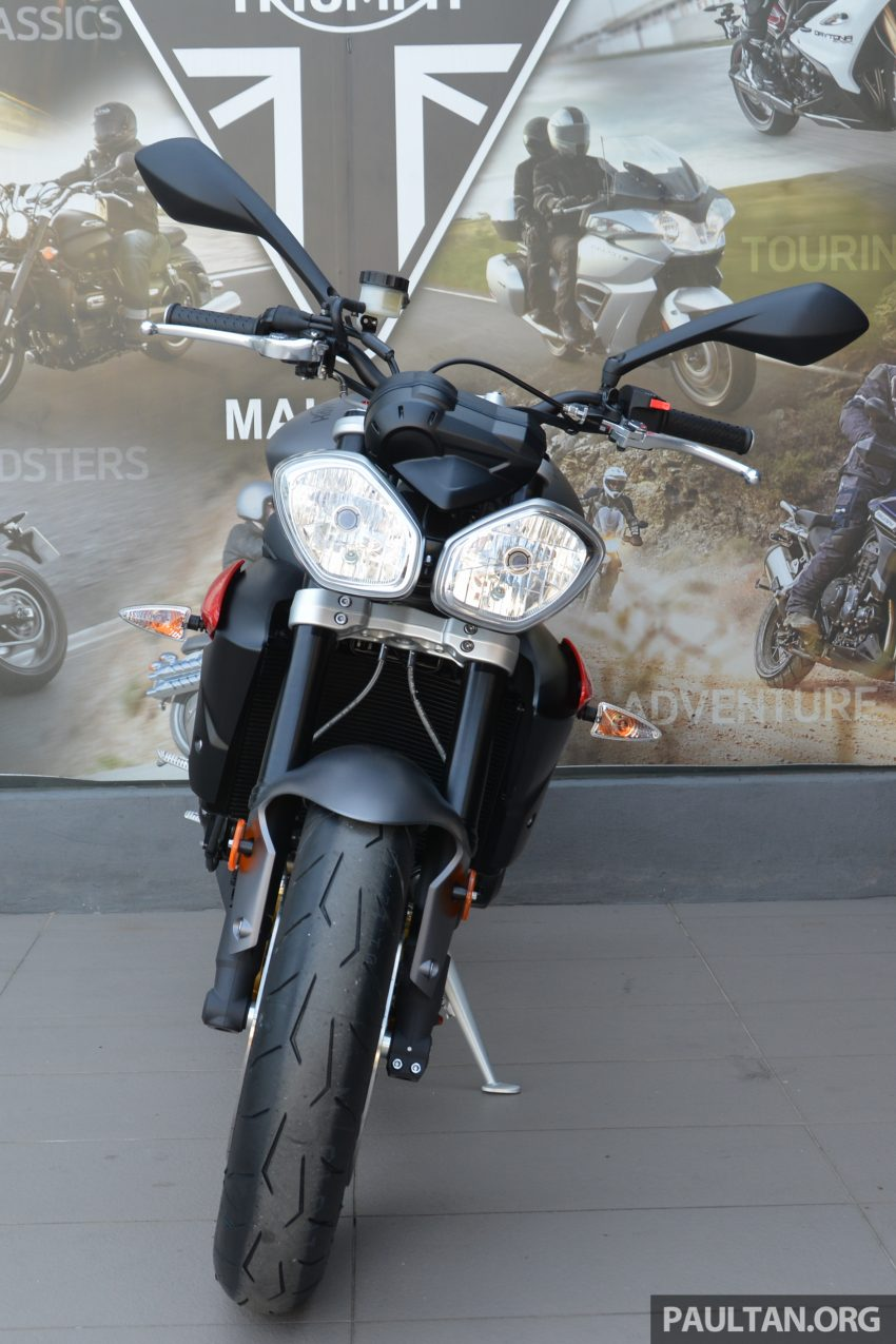 Long-term review: 2016 Triumph Street Triple 675R – delivery, running-in, first service and accessories Image #515434