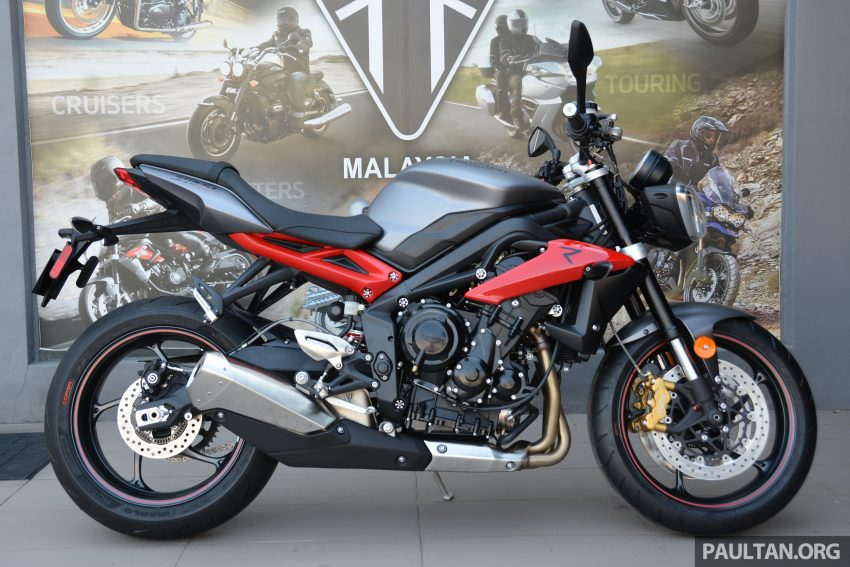 Long-term review: 2016 Triumph Street Triple 675R – delivery, running-in, first service and accessories Image #515440