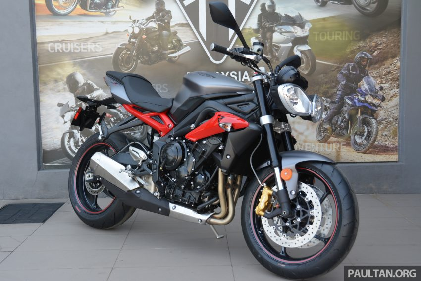 Long-term review: 2016 Triumph Street Triple 675R – delivery, running-in, first service and accessories Image #515441