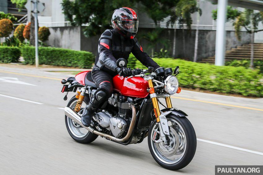 REVIEW: 2016 Triumph Thruxton R – the ultimate retro Image #519475