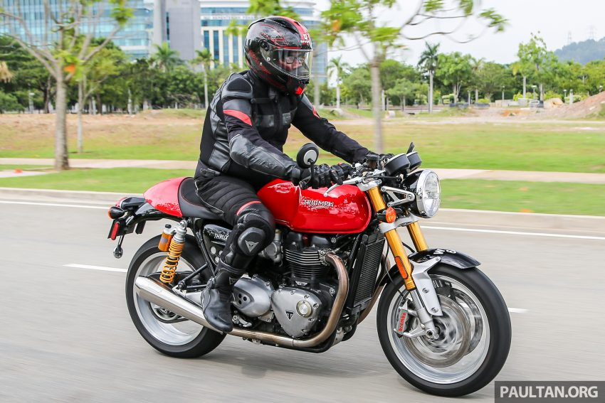 REVIEW: 2016 Triumph Thruxton R – the ultimate retro Image #519477