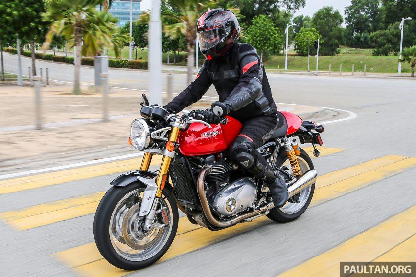 REVIEW: 2016 Triumph Thruxton R – the ultimate retro Image #519479