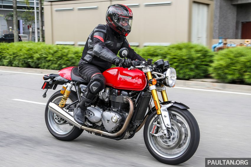 REVIEW: 2016 Triumph Thruxton R – the ultimate retro Image #519481