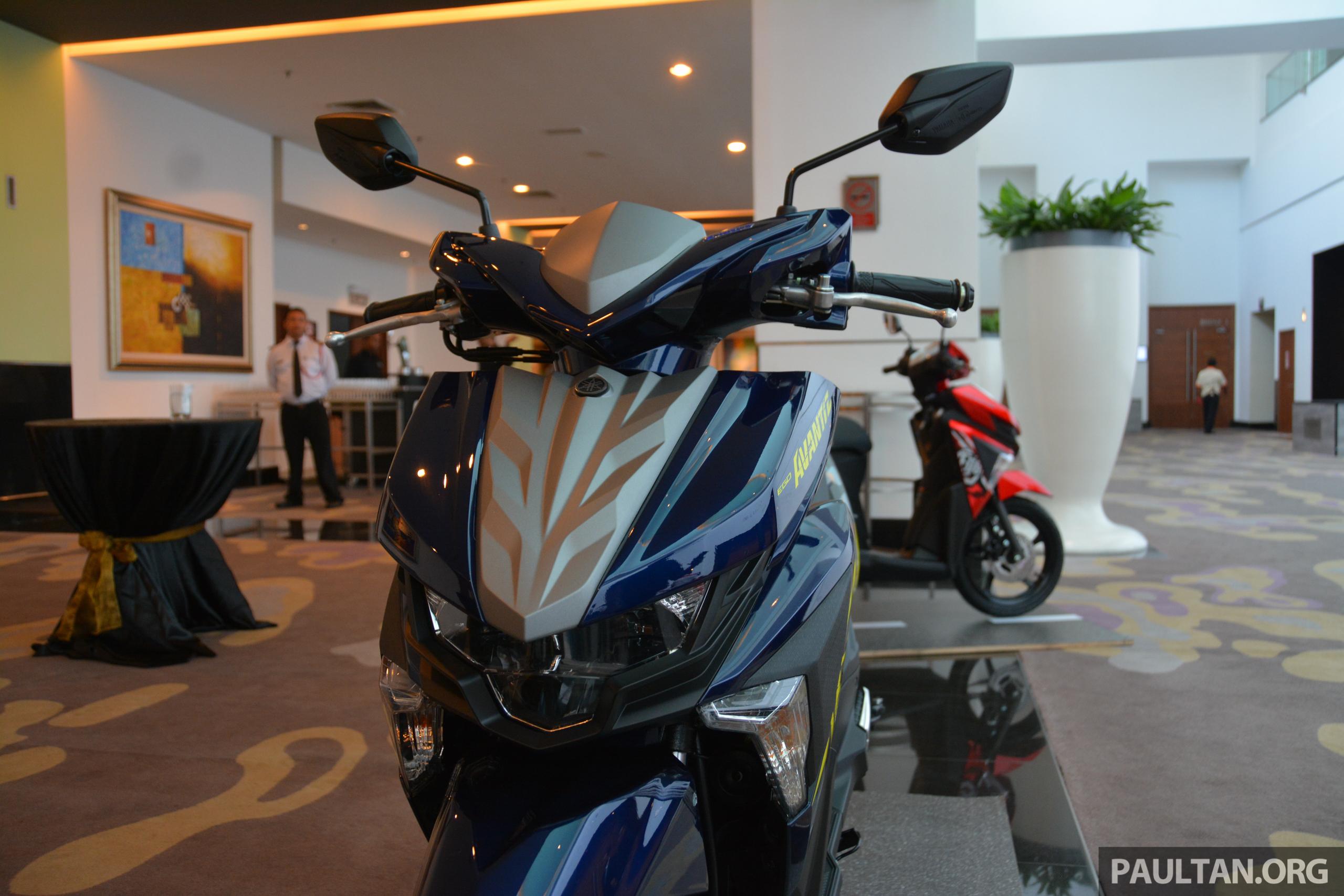 Harga Yamaha Scooter Cc
