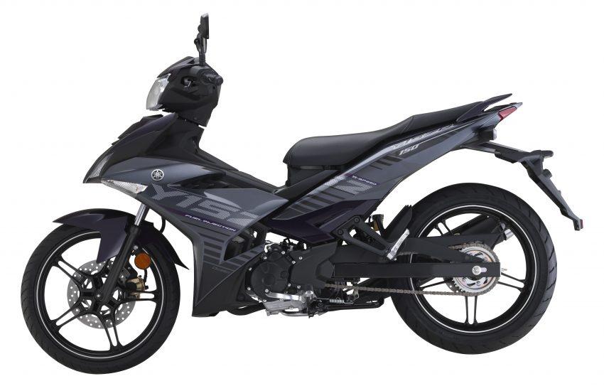Yamaha Y15ZR 2016 – tampil dengan warna kelabu – ungu baharu, dijual dengan harga RM8,210 Image #525582