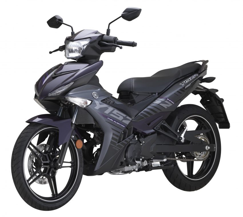 Yamaha Y15ZR 2016 – tampil dengan warna kelabu – ungu baharu, dijual dengan harga RM8,210 Image #525581