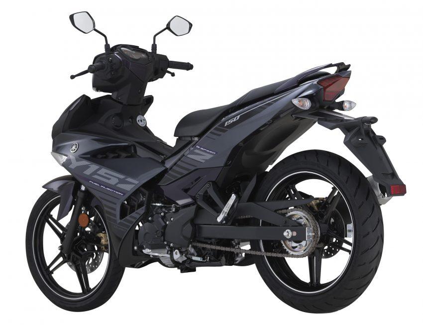 Yamaha Y15ZR 2016 – tampil dengan warna kelabu – ungu baharu, dijual dengan harga RM8,210 Image #525580