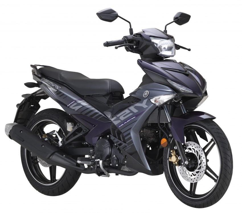 Yamaha Y15ZR 2016 – tampil dengan warna kelabu – ungu baharu, dijual dengan harga RM8,210 Image #525577