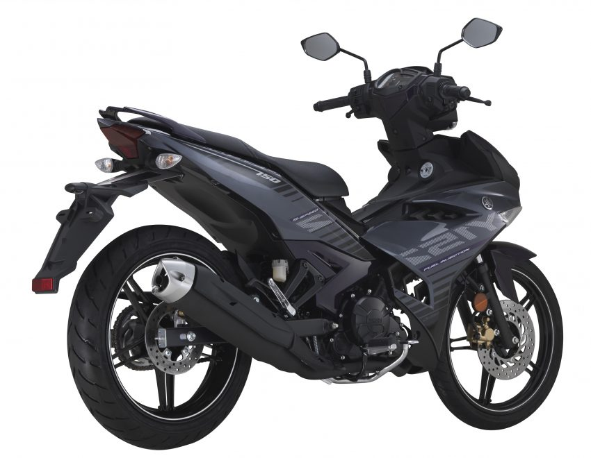 2016 Yamaha Y15ZR – now in grey, priced at RM8,210 Image #525335