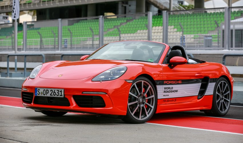 Porsche 718 Boxster previewed in Malaysia at Sepang Image #520236