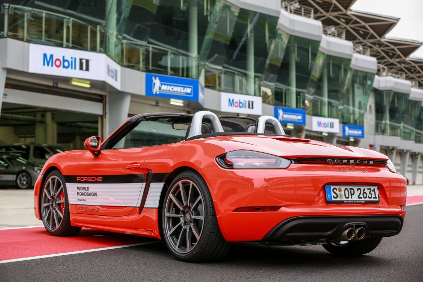Porsche 718 Boxster previewed in Malaysia at Sepang Image #520237