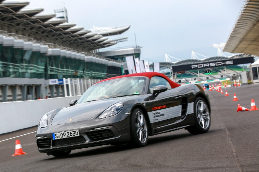 Porsche 718 Boxster previewed in Malaysia at Sepang Image #520238