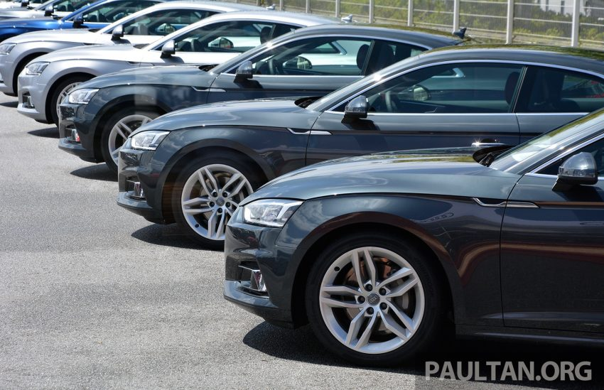 DRIVEN: 2017 Audi A5 and S5 Coupe – enduring class Image #521396