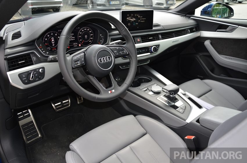 DRIVEN: 2017 Audi A5 and S5 Coupe – enduring class Image #521455