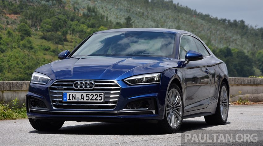 DRIVEN: 2017 Audi A5 and S5 Coupe – enduring class Image #521469