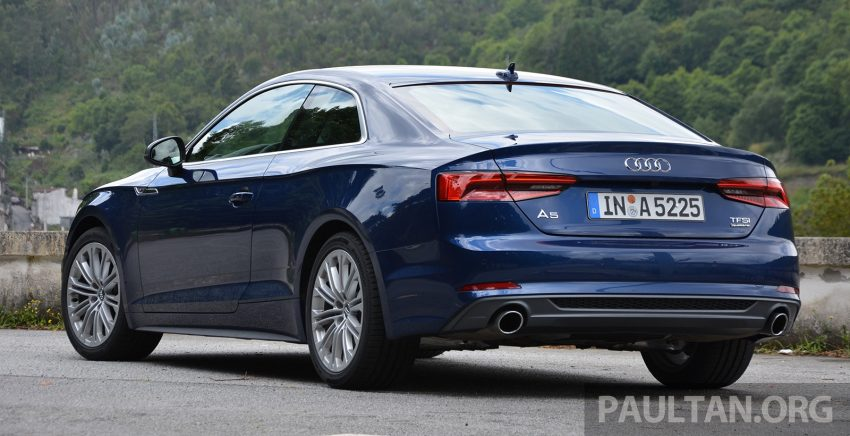 DRIVEN: 2017 Audi A5 and S5 Coupe – enduring class Image #521472