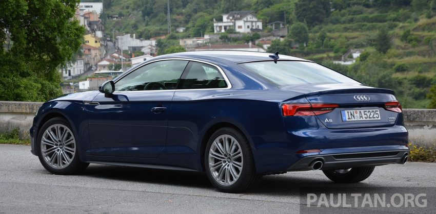 DRIVEN: 2017 Audi A5 and S5 Coupe – enduring class Image #521474