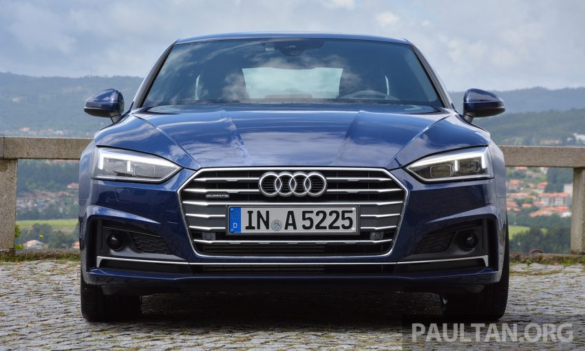 DRIVEN: 2017 Audi A5 and S5 Coupe – enduring class Image #521476