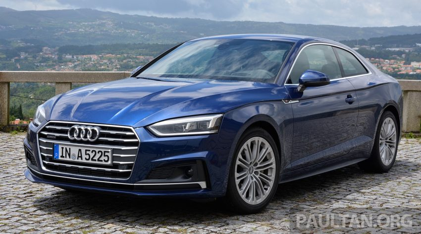 DRIVEN: 2017 Audi A5 and S5 Coupe – enduring class Image #521477