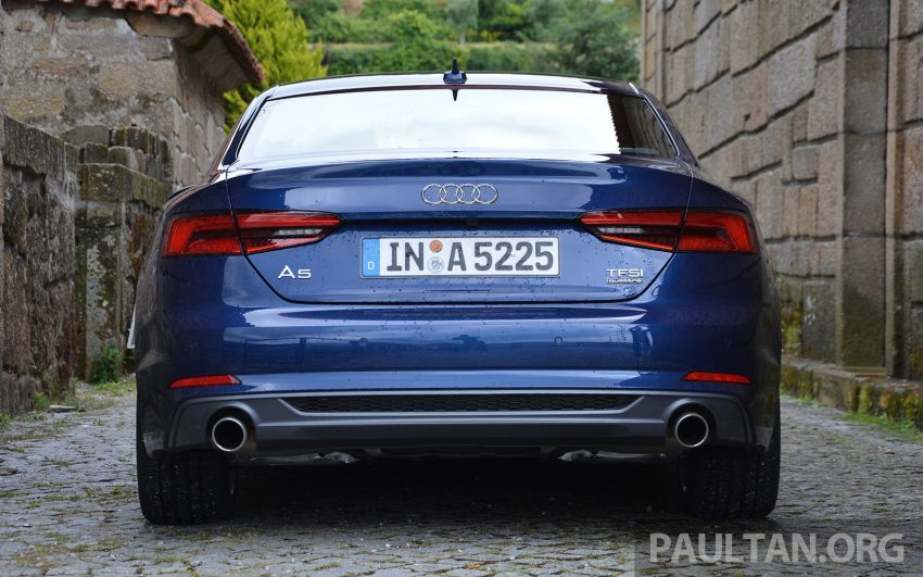DRIVEN: 2017 Audi A5 and S5 Coupe – enduring class Image #521482