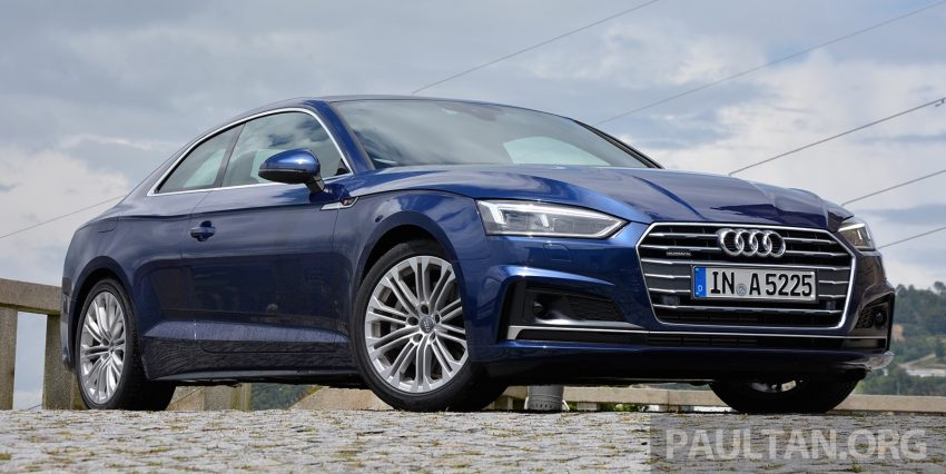 DRIVEN: 2017 Audi A5 and S5 Coupe – enduring class Image #521484