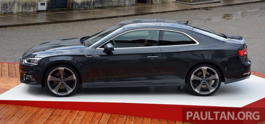 DRIVEN: 2017 Audi A5 and S5 Coupe – enduring class Image #521486