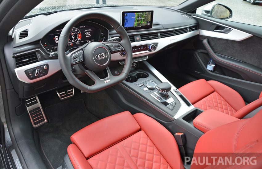 DRIVEN: 2017 Audi A5 and S5 Coupe – enduring class Image #521513