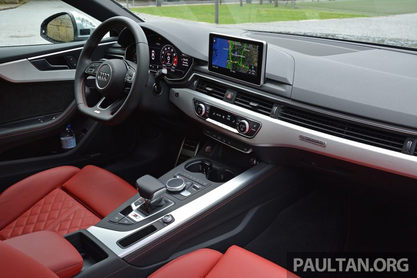 DRIVEN: 2017 Audi A5 and S5 Coupe – enduring class Image #521525