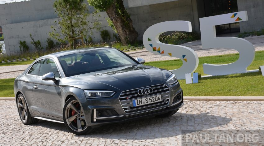 DRIVEN: 2017 Audi A5 and S5 Coupe – enduring class Image #521534