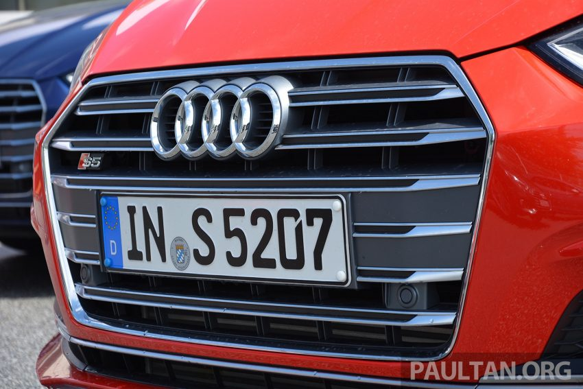 DRIVEN: 2017 Audi A5 and S5 Coupe – enduring class Image #521504